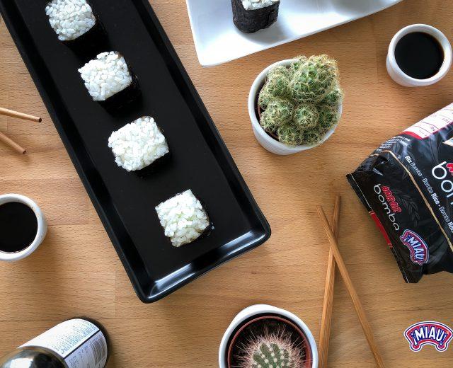 Onigiri, arroz bomba miau