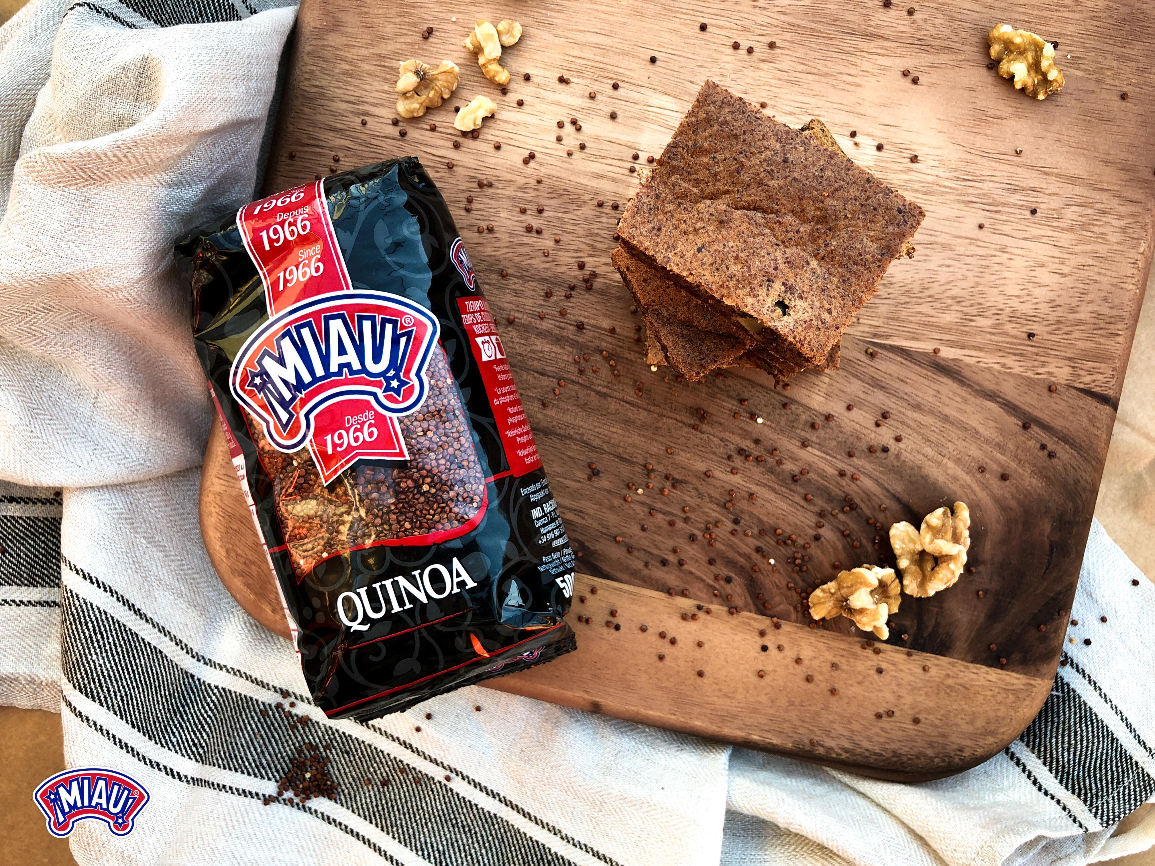 Bizcocho quinoa