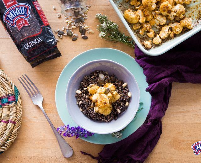 quinoa con coliflor