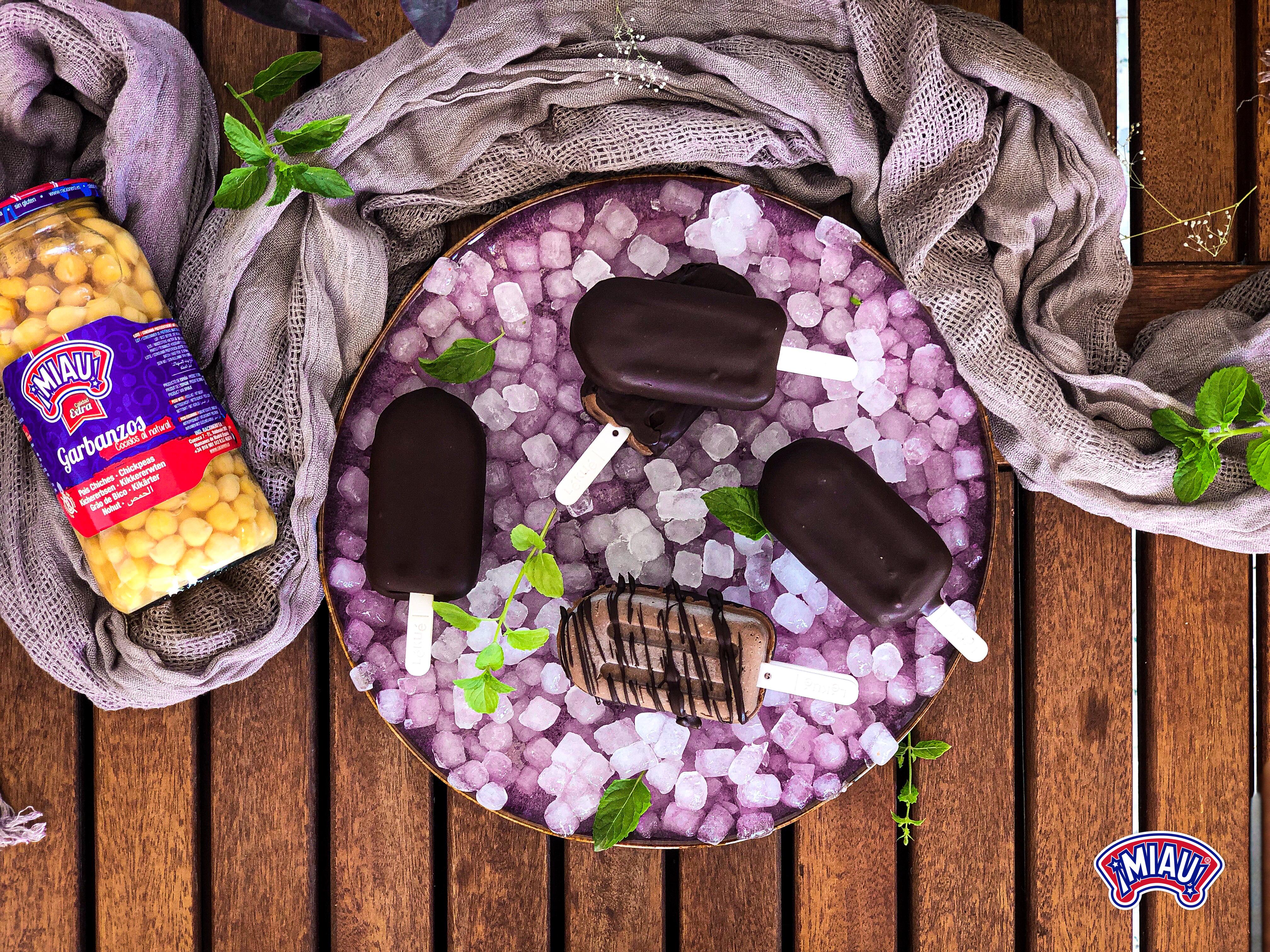 helado hummus cacao