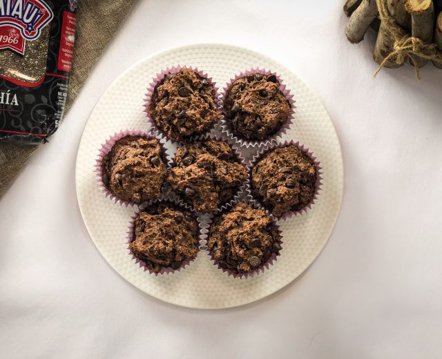 muffins veganas