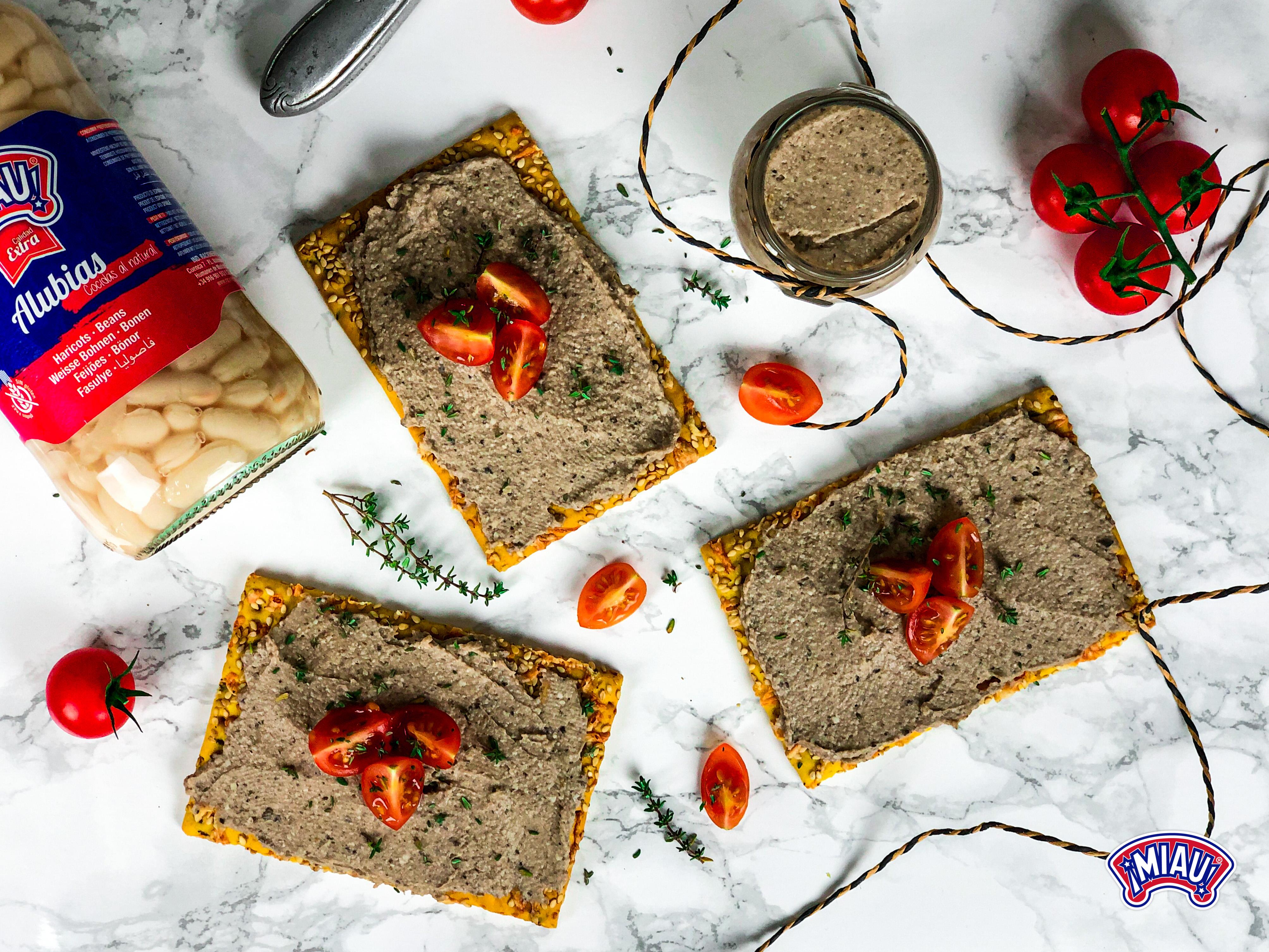 parmesan Pate haricots végétarien
