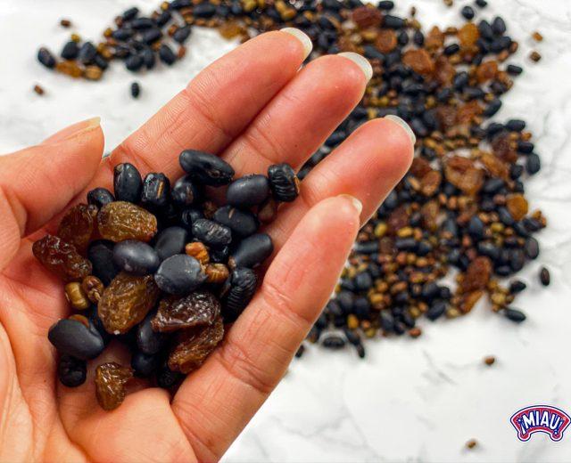 snacks de alubias
